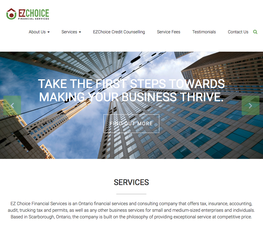 EZ Choice Financial Services